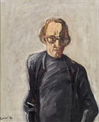 porträt von heiner müller by georg eisler