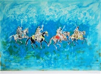 cavaliers by hassan el glaoui