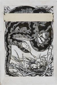 il serpente by duilio cambellotti
