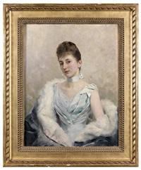 portrait de femme by rudolf vacha