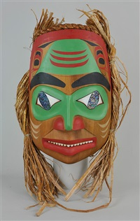 northwest coast mask: shark spirit by reg davidson