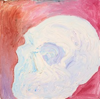 finger painting no. 1, man cave w.i.p by ben quilty