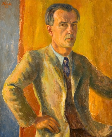 autoportrét by alois bilek