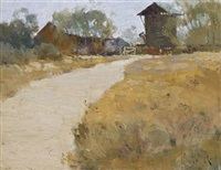 road to the farmhouse by theodore penleigh boyd