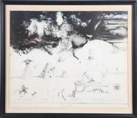 thirteen colonies, 1967 by saul steinberg