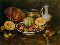 nature morte aux fruits by henry r. rittenberg