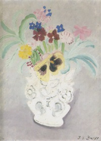 flowers in a jug by jane simone bussy