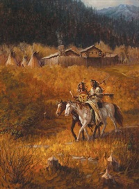 fort bridger by ted long