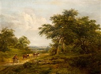 scene near monks eley by robert burrows
