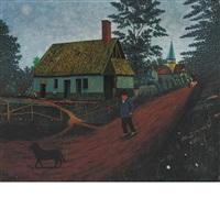la villageois au chien by camille bombois