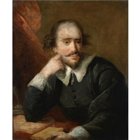 portrait of william shakespeare by john francis rigaud