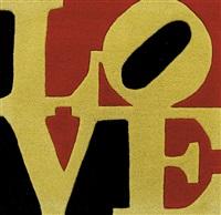 liebe love by robert indiana