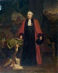 portrait de francisque mandet, conseiller à la cour d'appel de riom by alphonse cornet