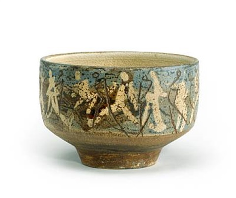 untitled bowl by peter voulkos
