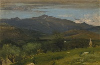 north conway by george inness