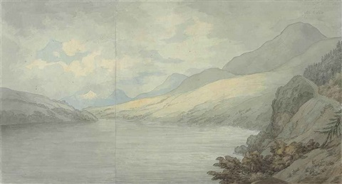loch tay near kenmore by john white abbott
