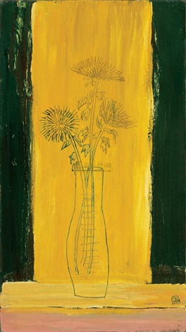 菊花 chrysanthemums by sanyu