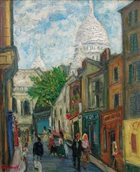 montmartre by aramov