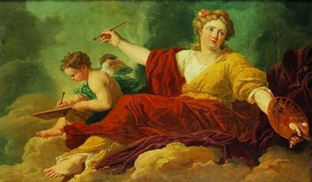 Allegorie De La Peinture By Charles Michel Ange Challes On Artnet