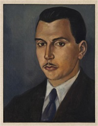 retrato de alberto misrachi by roberto montenegro