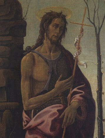 saint jean baptiste by jacopo del sellaio