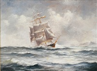 bringing in the t'gallant by ian hanson
