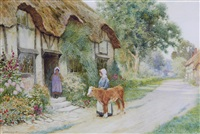 the new calf by arthur claude strachan