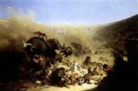 combats dans l'arene by felix louis leullier