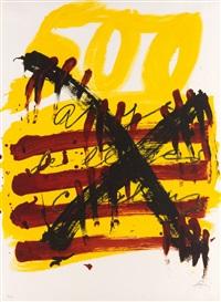 homenatge als 500 anys del libre català by antoni tàpies