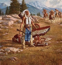 the legend of brown eagle by stan davis