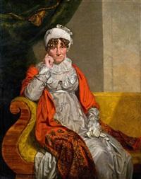 porträt einer dame by george dawe