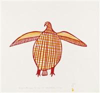 fanciful ptarmigan (1970 #36) by luke iksiktaaryuk