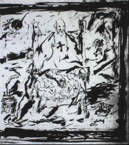 studio per il cardinale decano by scipione (gino bonichi)