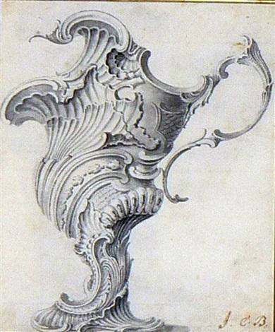 une paire daiguières baroques various sizes pair by js hildt