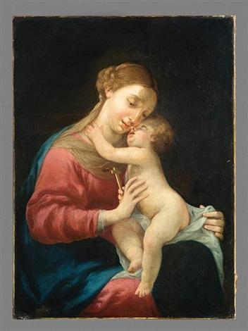 vierge à lenfant by jacques blanchard