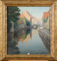 quai de la main-d'or, à bruges by pierre abattucci