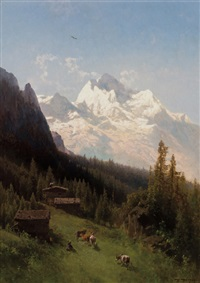 from the bernese oberland switerland by hermann herzog