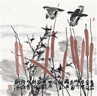 花鸟 by ma xinlin