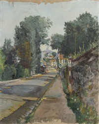 rue de village by lucien adrion