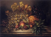 still life of fruit by william harding smith