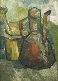 the brass tea-pot and the bronze nut by constantin piliuta
