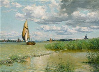 on the maas by walter launt palmer