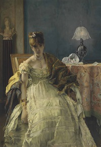 lovelorn by alfred stevens