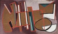 peinture 336 by alberto magnelli