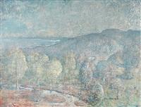 the slopes of mt. saddleback i by lloyd frederic rees