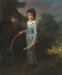 portrait of henry john lambert by henri-pierre danloux