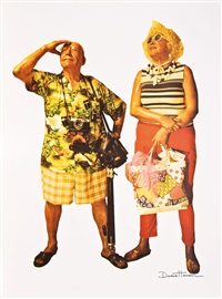 the tourists by duane hanson