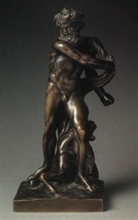 figure of neptune by michel anguier