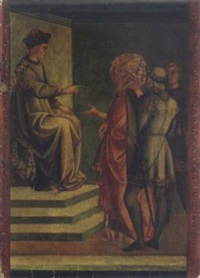 scene from the life of saint silvester by (francesco di stefano) pesellino