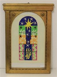 kirchenfenster by henri matisse
